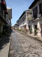 Straße in Vigan