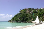 Strand auf der Insel Boracay