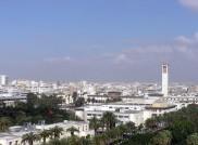 Blick auf Casablanca
