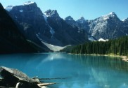Der Moraine Lake in Kanada