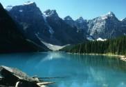 Der Moraine Lake in Kanada