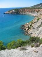 Reizvolle Bucht auf Ibiza
