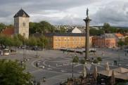 Zentrum von Trondheim