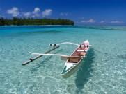 Strand bei Tahiti