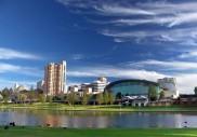 Blick auf Adelaide