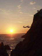 Cliff-Divers in Acapulco