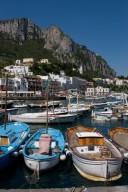 Fischerboote bei Anacapri