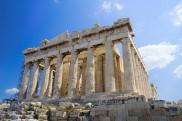 Die Akropolis in Athen / Griechenland