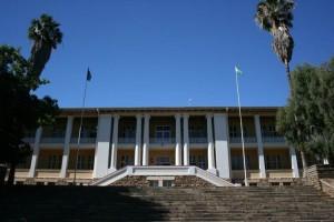 Der Tintenpalast in Windhoek