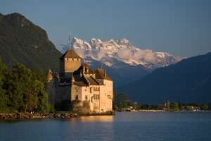 Genfer See - Schloss Chillon