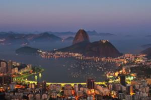 Der Zuckerhut in in Rio de Janeiro
