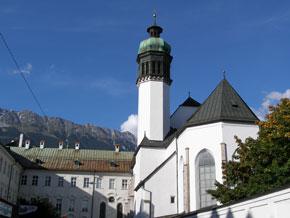 Hofkirche in der Altstadt