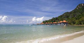 Strand auf Langkawi