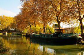 Der Canal du Midi bei Toulouse