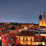 Zagreb, die Hauptstadt von Kroatien