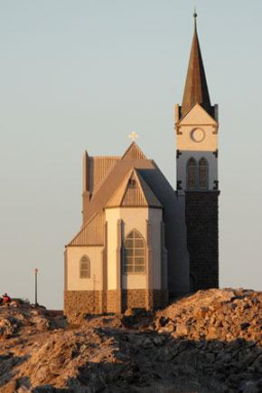 Die Felsenkirche in Lüderitz
