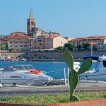Alghero auf der Insel Sardinien