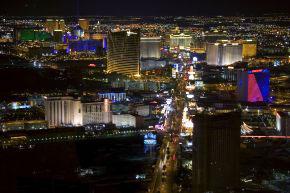 Blick auf Las Vegas